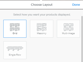 Weebly - Build - Choose Layout