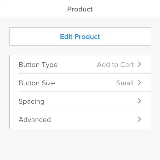 Weebly - Build - Single Product