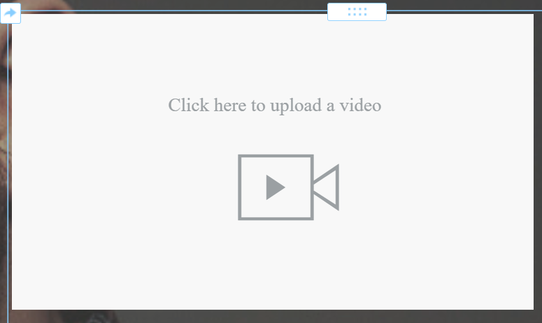 Weebly HD video element