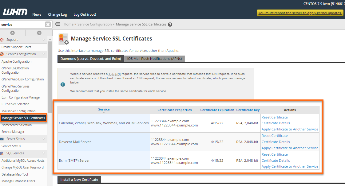 Vps Services Self Signed Ssl Certificates Hostgator Support