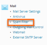 Windows Dedicated Server with MailEnable Plesk Mail Spam Filter