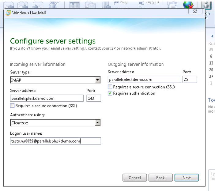 Windows Live Mail Setup | HostGator Support