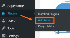 WordPress Dashboard - Add New Plugins