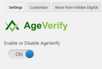 AgeVerify - Enable Button