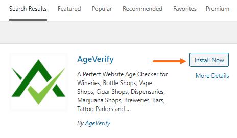 AgeVerify Plugin - Install Now