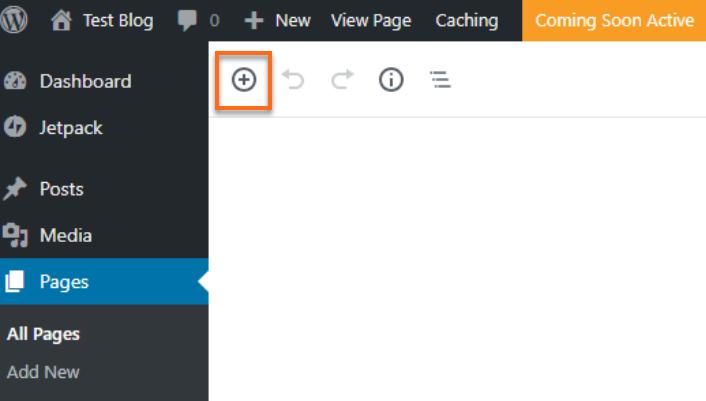 Add Block Plus Icon