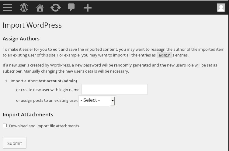 WordPress Assign Author to Imported Pages and Posts