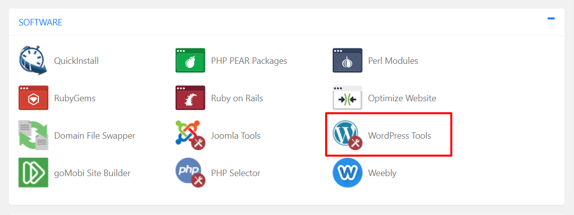 WordPress Tools icon